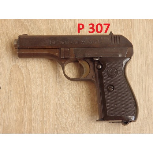 PISTOLET BRNO, MODEL 27, KAL.7,65MM [P307]