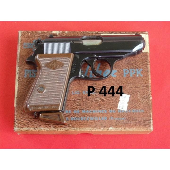 PISTOLET MANURHIN, WALTHER PPK, KAL.7,65MM [P444]