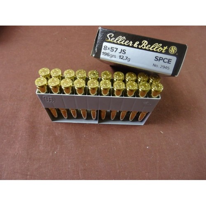 Amunicja   8 x 57 JS  12,7 g  , Sellier & Bellot