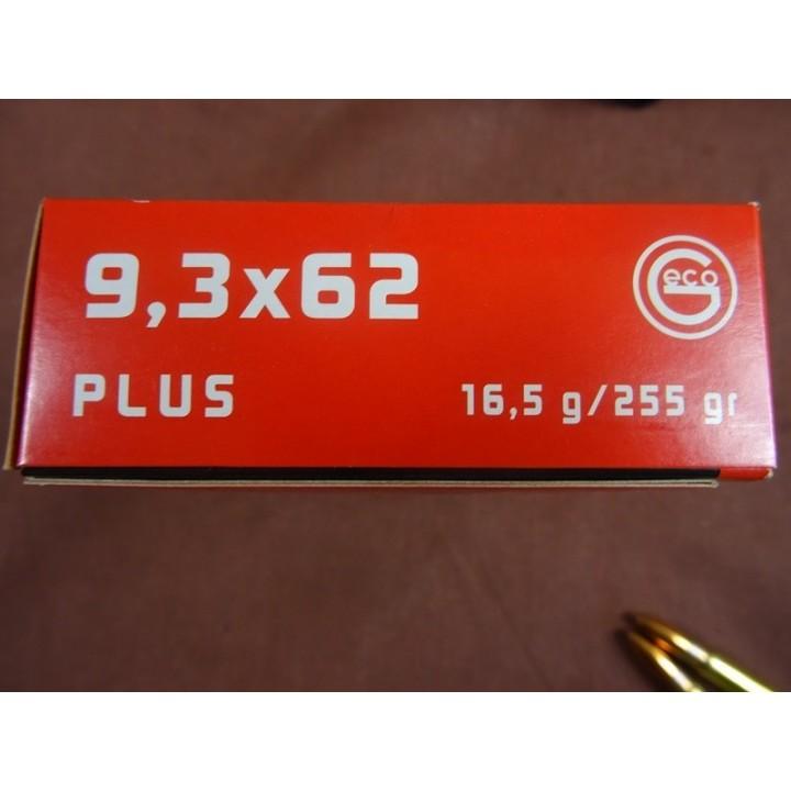 AMUNICJA  9,3X62 PLUS  16,5 g/255 gr ,GECO