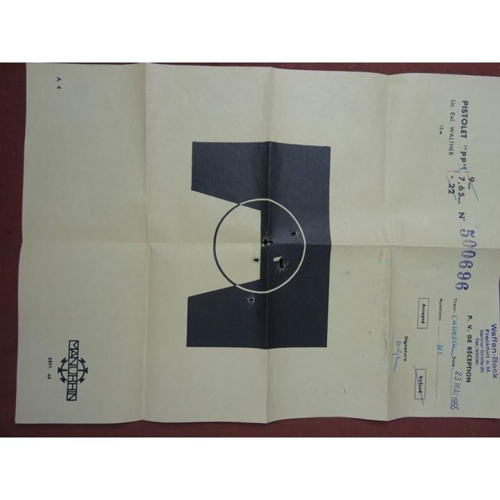 Pistolet Manurhin PPK, kal.7.65mm [C472]