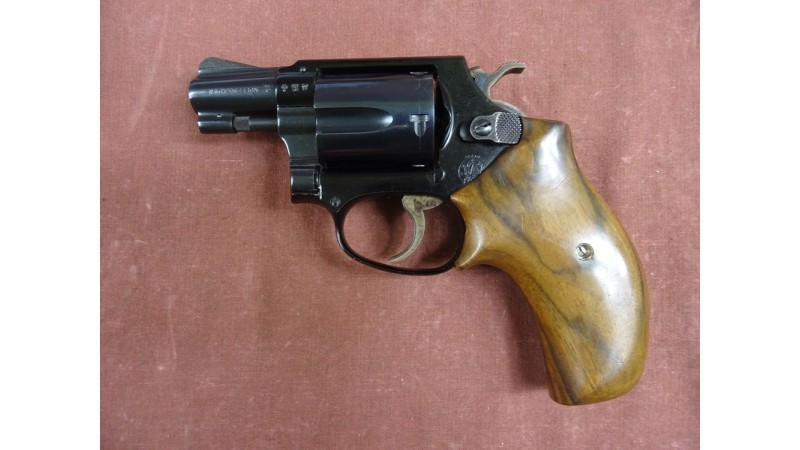 Rewolwer Smith&Wesson, kal.38 [G162]