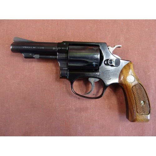 Rewolwer Smith & Wesson, model 37, kal.38 Specjal [G219]