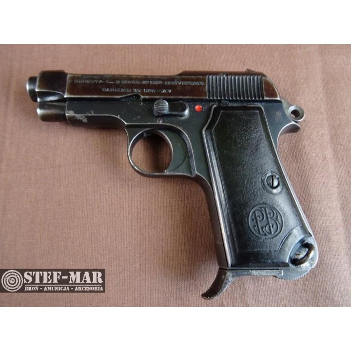 Pistolet centralny zaplon Beretta M34, kal. 9mm Short [C853]