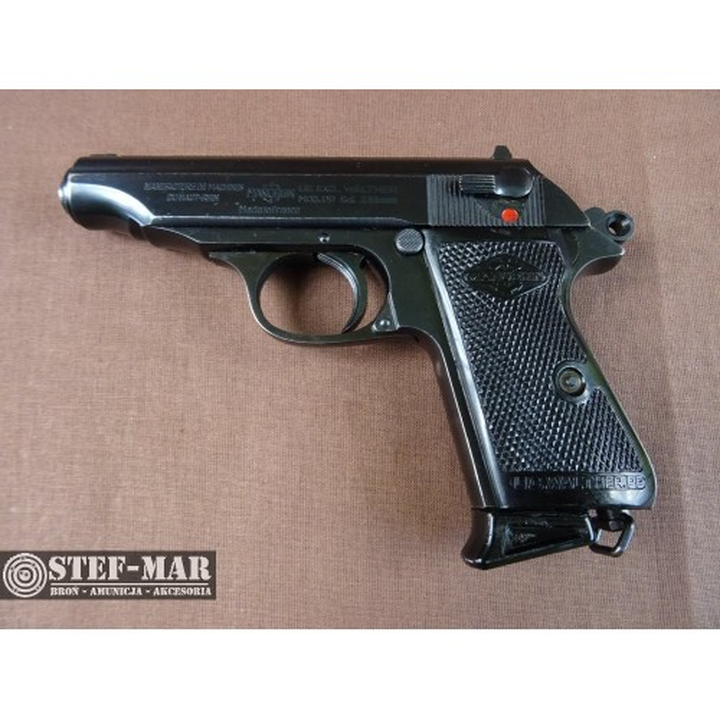 Pistolet centralny zaplon Manurhin (Walther) PP, kal. 7,65 BR [C822]