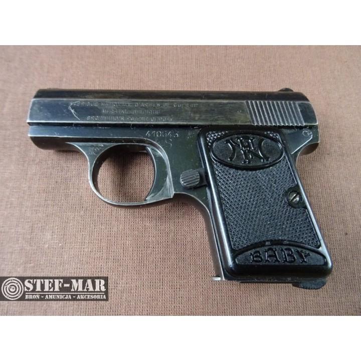 Pistolet centralny zaplon FN Baby, kal. 6,35mm [C886]