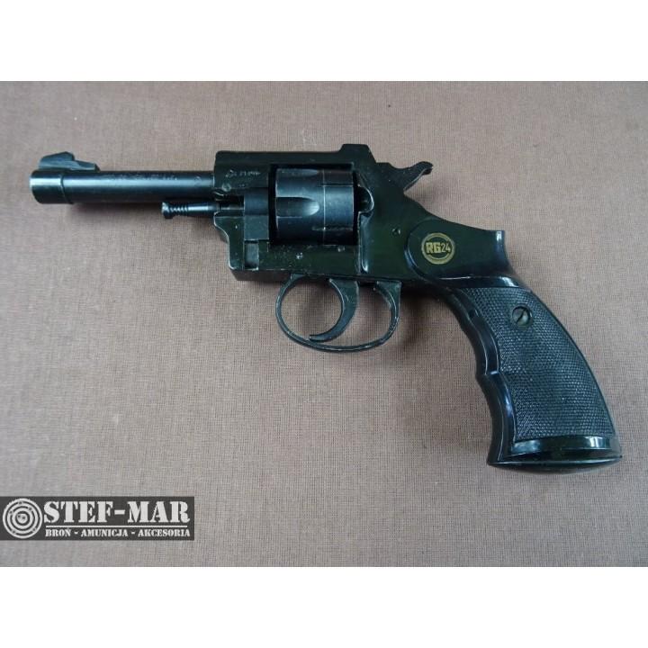Rewolwer boczny zaplon Rohm RG24, kal. .22 Long Rifle [Z518]