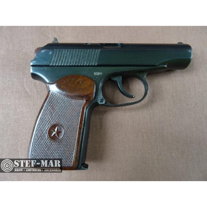 Pistolet centralny zaplon Makarov 10, kal. 9mm Mak. [C876]