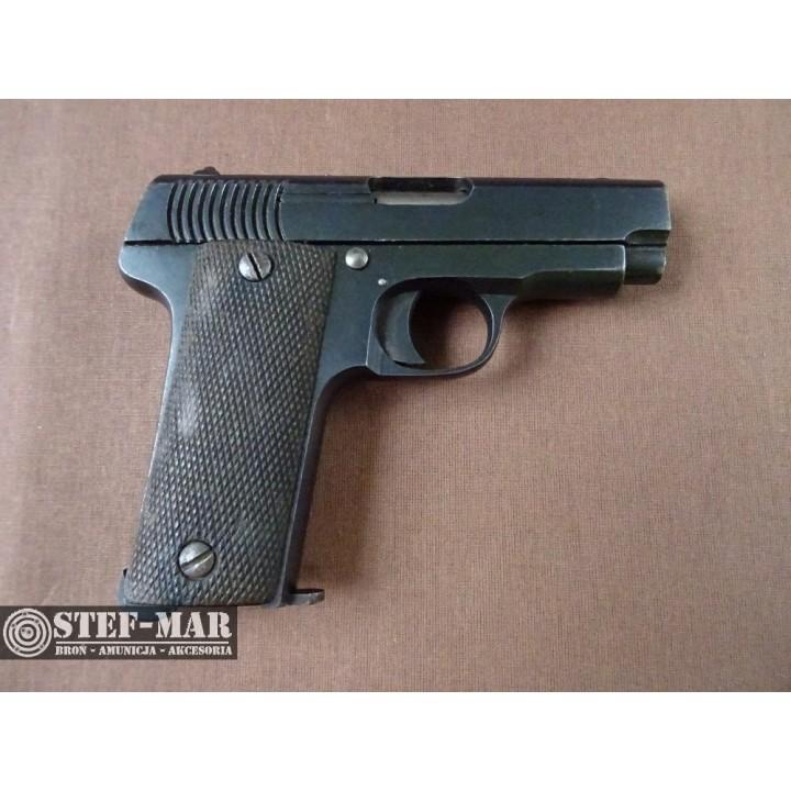 Pistolet centralny zaplon Gaztanaga Destroyer Eibar, kal. 7,65 BR [C854]