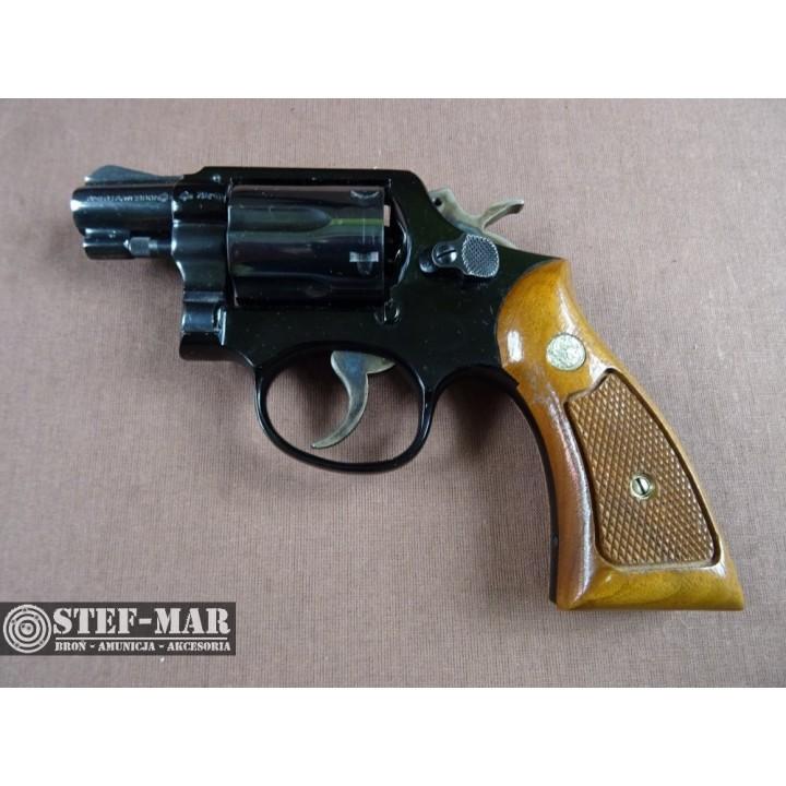 Rewolwer centralny zaplon Smith & Wesson 12-2, kal. .38 SP [G293]
