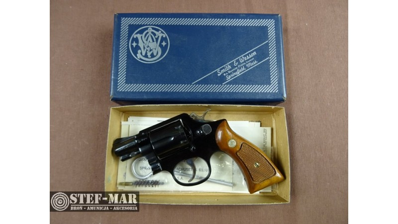 Rewolwer centralny zaplon Smith & Wesson 12-2, kal. .38 SP [G293]