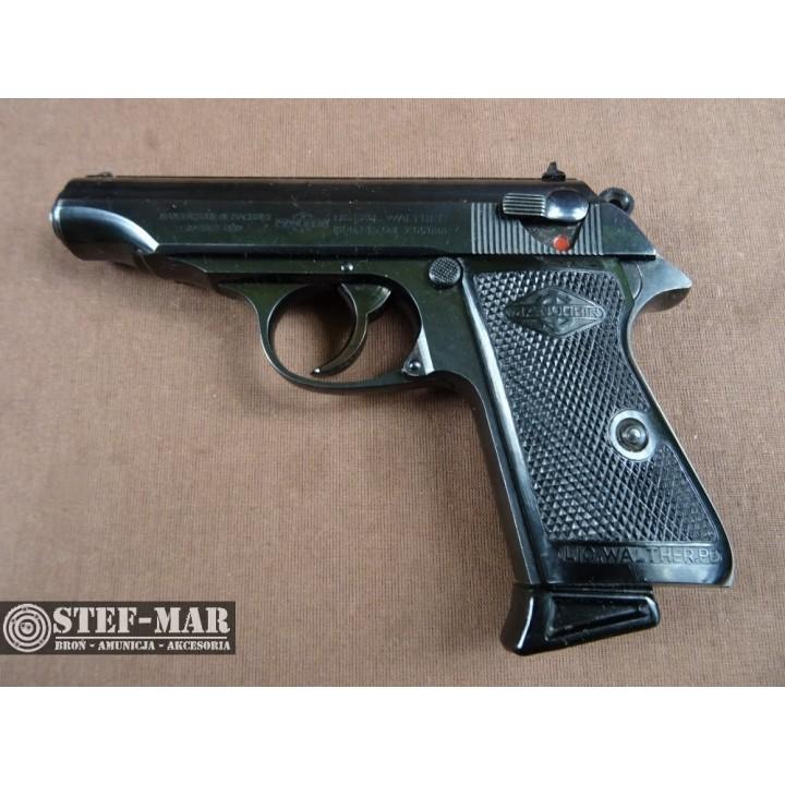 Pistolet centralny zaplon Walther PP, kal. 7,65 BR [C823]