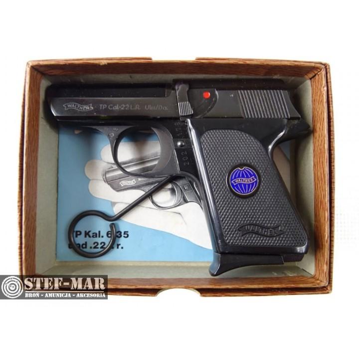 Pistolet boczny zapłon Walther TP, kal. .22 Long Rifle [Z688]