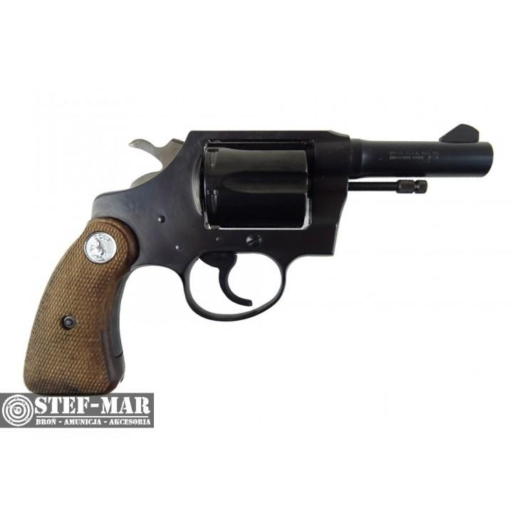 Rewolwer centralny zapłon Colt Detective, kal. .38 SP [G377]