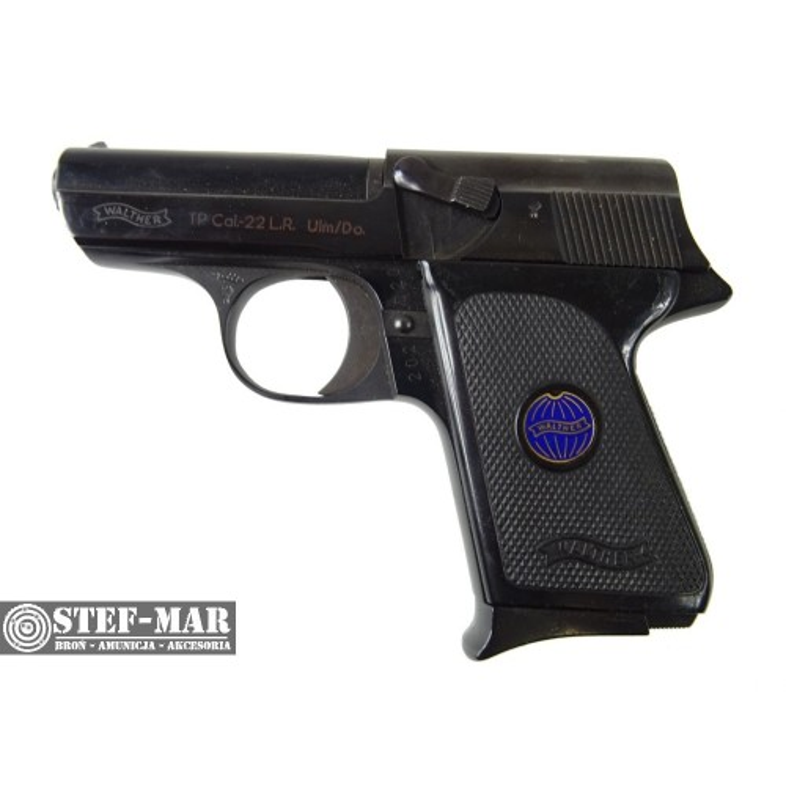 Pistolet boczny zapłon Walther TP, kal. .22 Long Rifle [Z683]