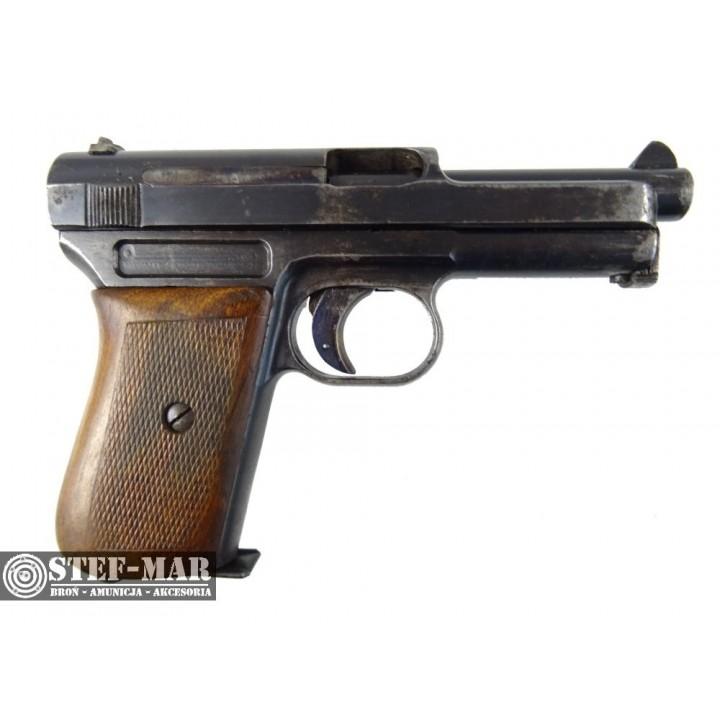 Pistolet centralny zapłon Mauser 1934, kal. 7.65 BR [C1150]