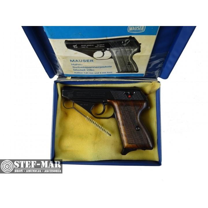 Pistolet centralny zapłon Mauser HSc [C1057]