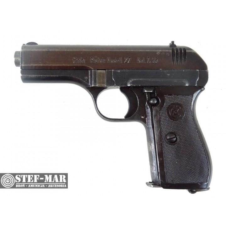 Pistolet centralny zapłon CZ 27 (fnh), kal. 7.65x17mmSR Browning (.32 ACP) [C1271]