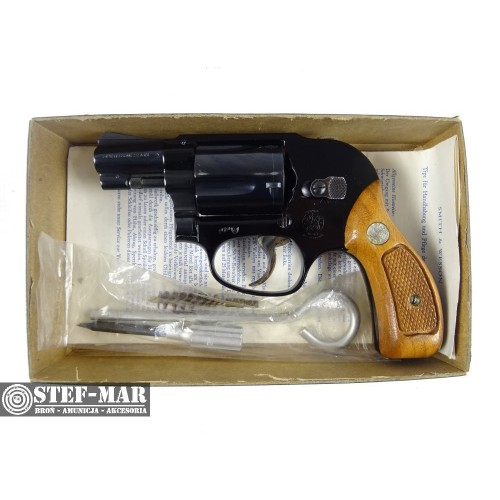 Rewolwer centralny zaplon Smith & Wesson 38, kal. .38 SP [G292]