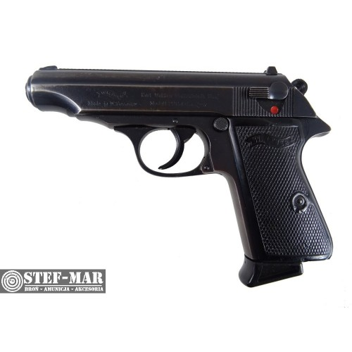 Pistolet centralny zapłon Walther PP, kal. 9x17mm Browning Short (.380 ACP) [C1223]