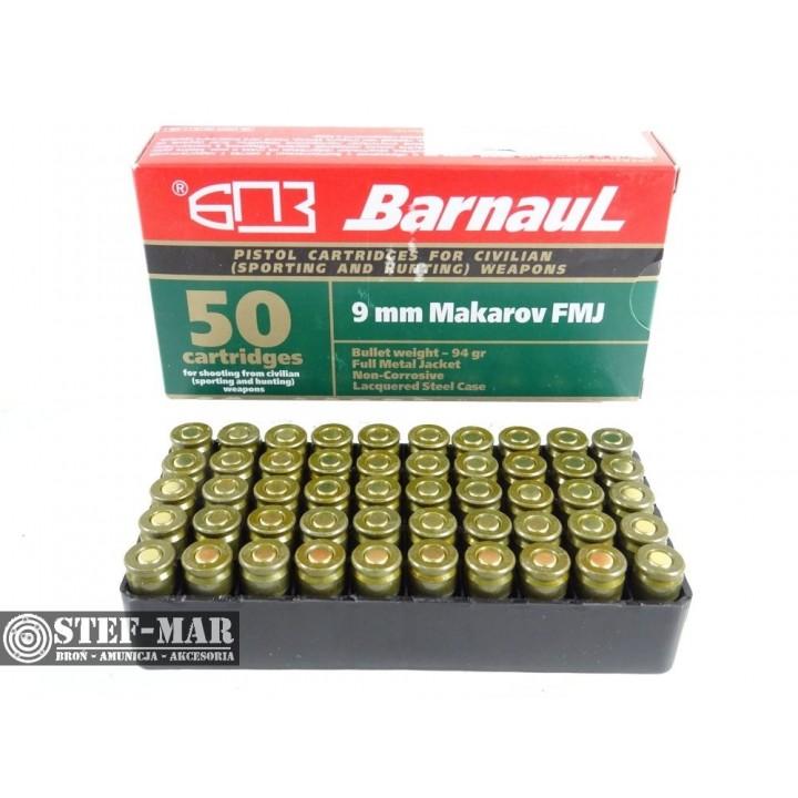 Amunicja BarnauL 9x18mm FMJ