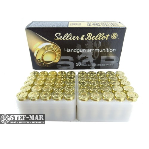 Amunicja Sellier & Bellot 7.65x17mm Browning .32 ACP 73grs/4.75g