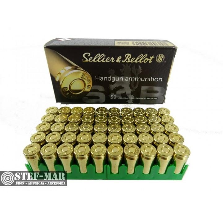 Amunicja Sellier & Bellot 9x18mm Makarov FMJ 95 grs/6.1g