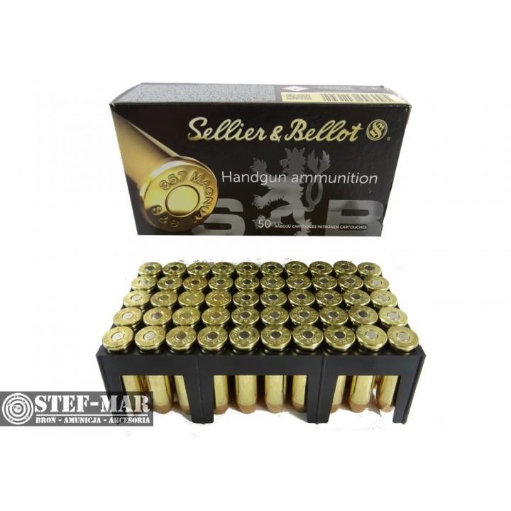 Amunicja Sellier & Bellot .357 Magnum FMJ (50 szt.)