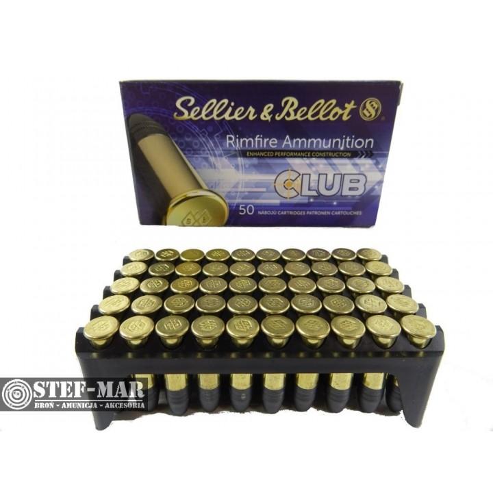Amunicja Sellier & Bellot .22 LR Club 2.56g (50 szt.)
