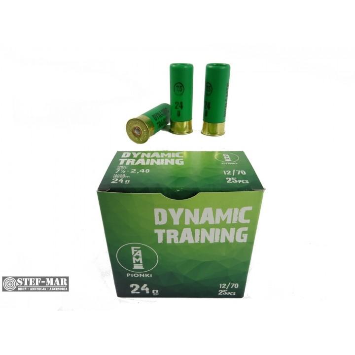 Amunicja śrutowa FAM Pionki 12/70 Dynamic Training 24g