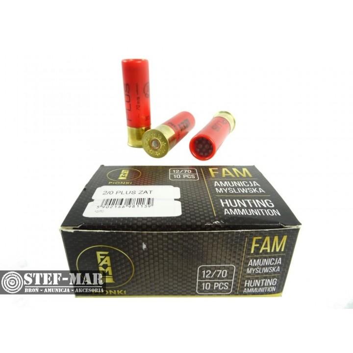Amunicja śrutowa FAM Pionki Plus Loftka 2/0