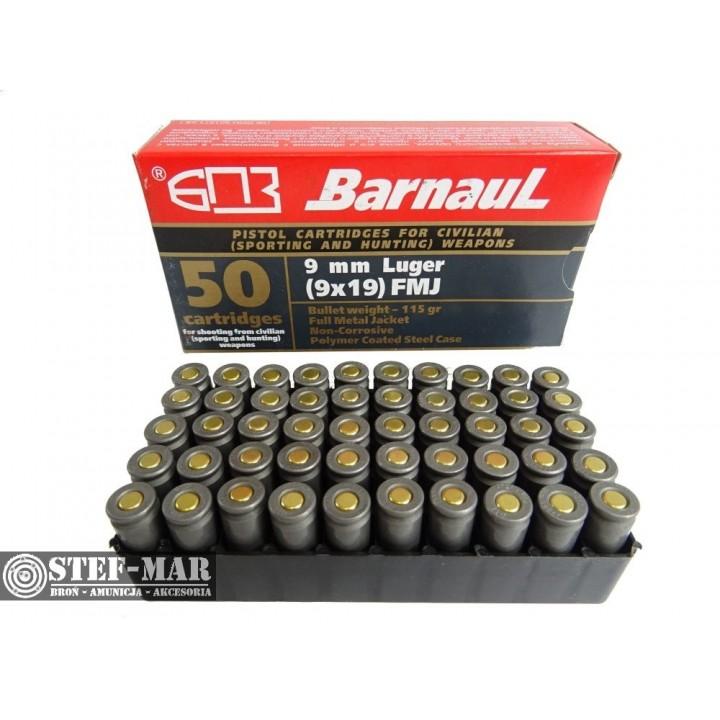 Amunicja BarnauL 9x19mm FMJ