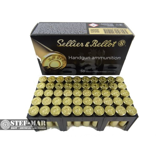 Amunicja Sellier & Bellot SP .38 Special 158grs/10.25g [C12-6]