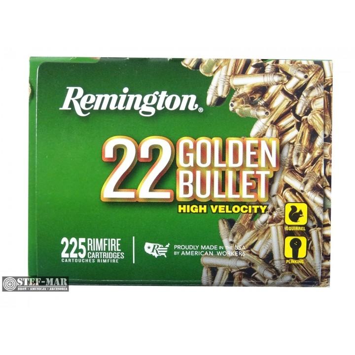 Amunicja Remington .22 LR Golden Bullet HV (225 szt) [B3-6]