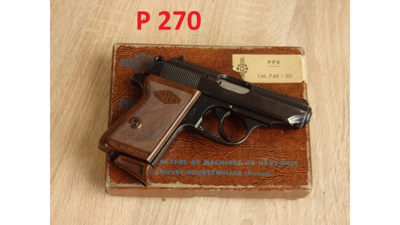 Pistolet Manurhin lic. Walther PPK [P270]
