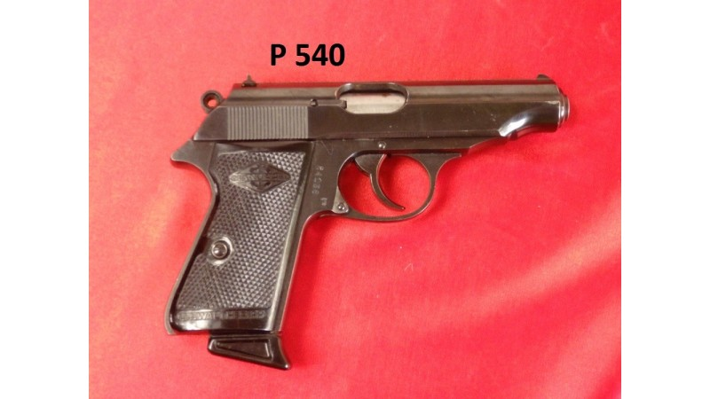 Pistolet Manurhin lic. Walther PP [P540]