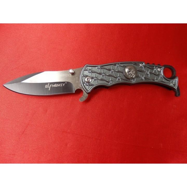 Nóż Elf Monkey, bagnet, scyzoryk, 20,5cm [N77]