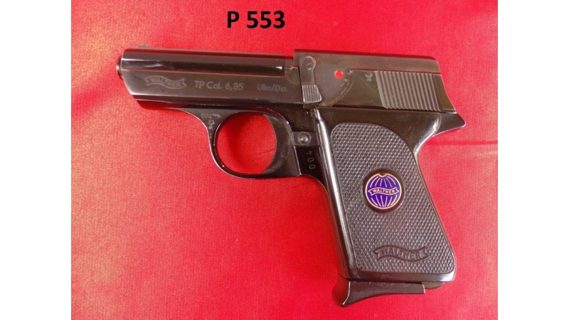 PISTOLET WALTHER TP, KAL.6,35MM [P553]