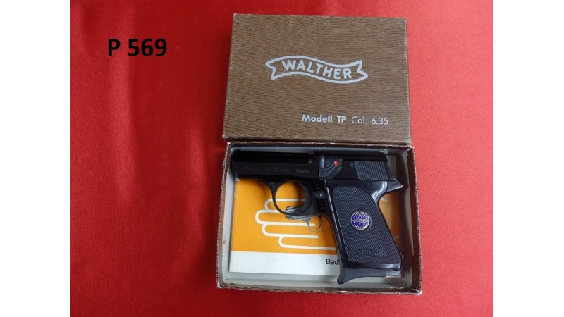 PISTOLET WALTHER TP.,KAL.6,35MM [P569]