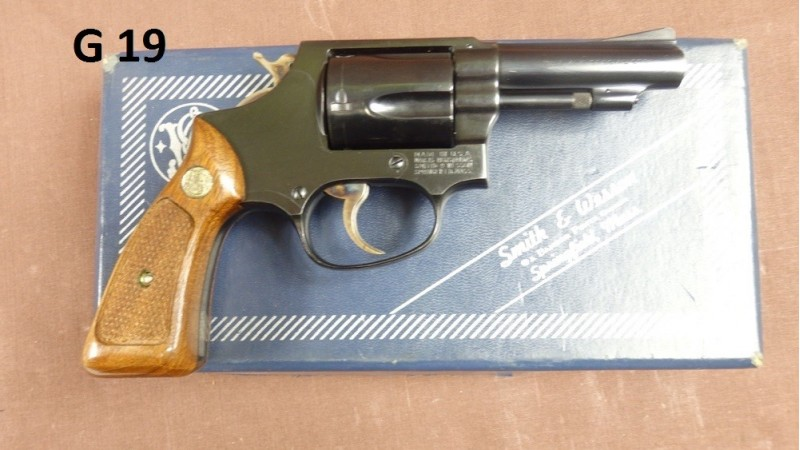 Rewolwer Smith&Wesson, kal.38Specjal [G19]