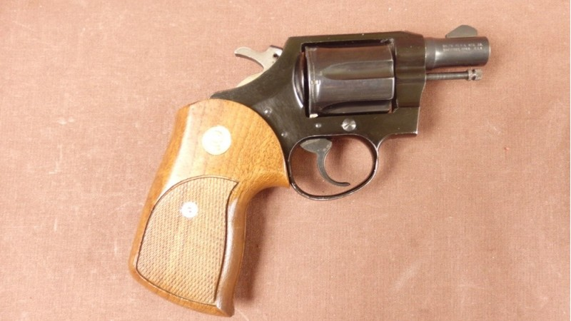 Rewolwer Smith & Wesson, model Voctory, kal.38S&W [G54]