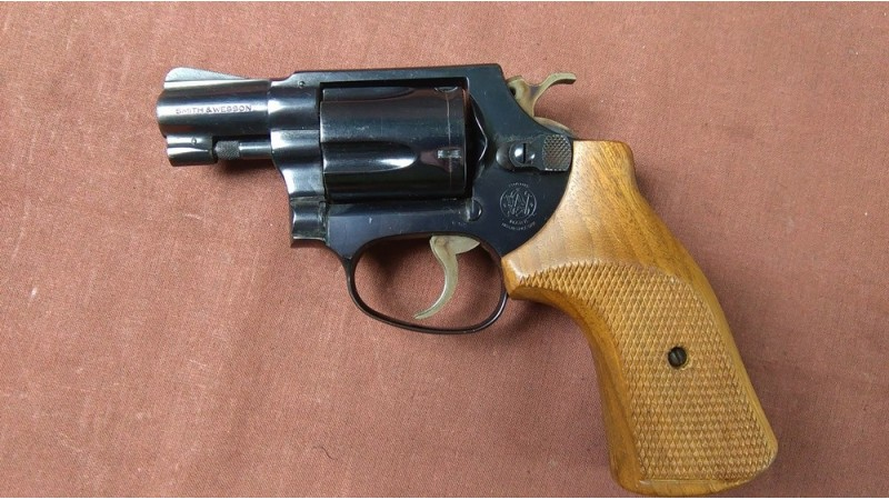 Rewolwer Smith & Wesson model 36, kal.38 Specjal [G74]