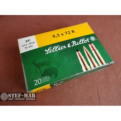 Amunicja Sellier & Bellot 9,3x72R SP 12,5 gr no. 2951