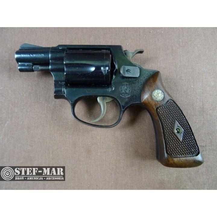 Rewolwer centralny zaplon Smith & Wesson 36, kal. .38 SP [G286]