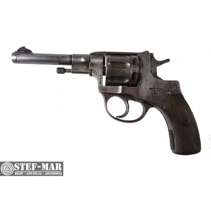 Rewolwer centralny zaplon Nagant 1935, kal. 7,62 N [G348]