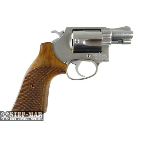 Rewolwer centralny zaplon Smith & Wesson Mod. 60, kal. .38 SP [G338]