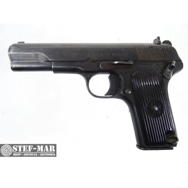 Pistolet centralny zaplon Norinco 213, kal. 9x19mm [C954]