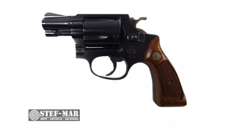 Rewolwer centralny zaplon Smith & Wesson Mod. 36, kal. .38 SP [G337]