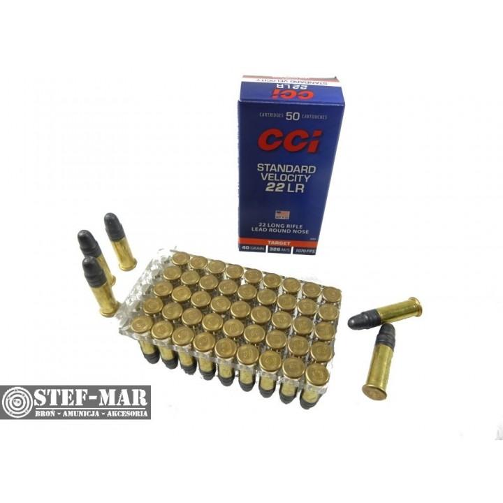 Amunicja CCI .22 LR Standard Velocity 2.56g (50 szt.)