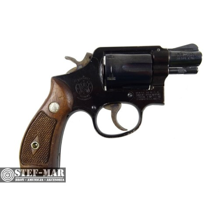 Rewolwer centralny zaplon Smith & Wesson Mod.12, kal. .38 SP [G214]